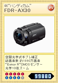 FDR-AX30